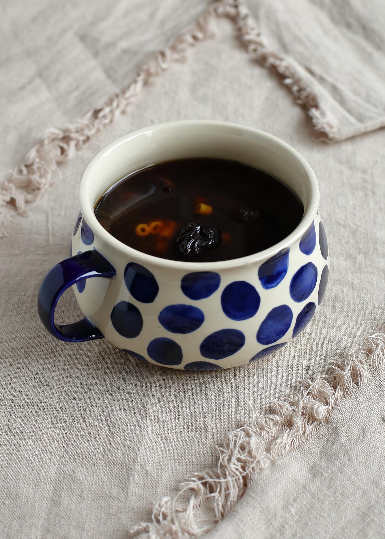 Zupa z suszonych śliwek
