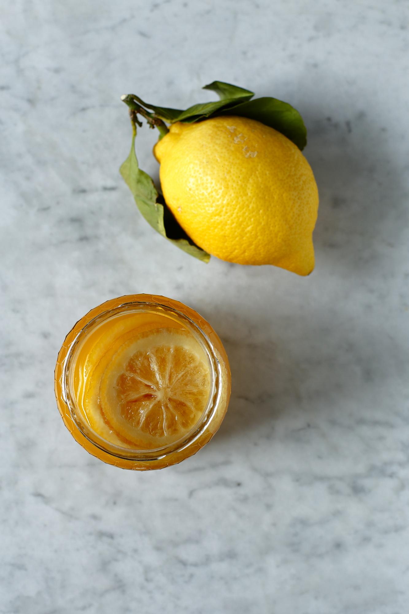 Cytryny kiszone w miodzie