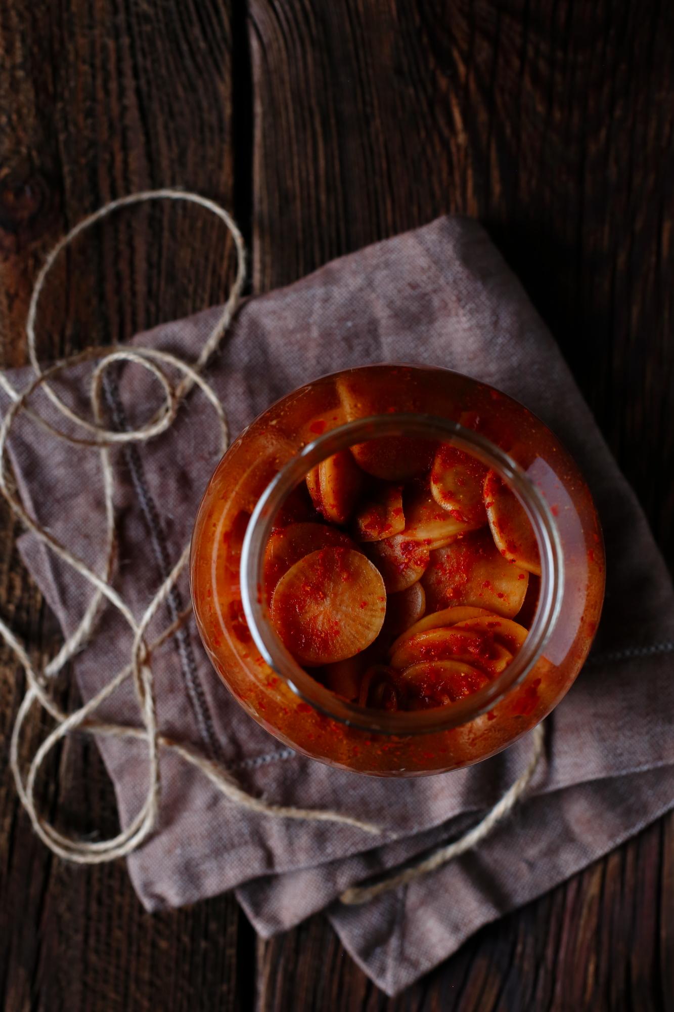 Kimchi z rzodkwi