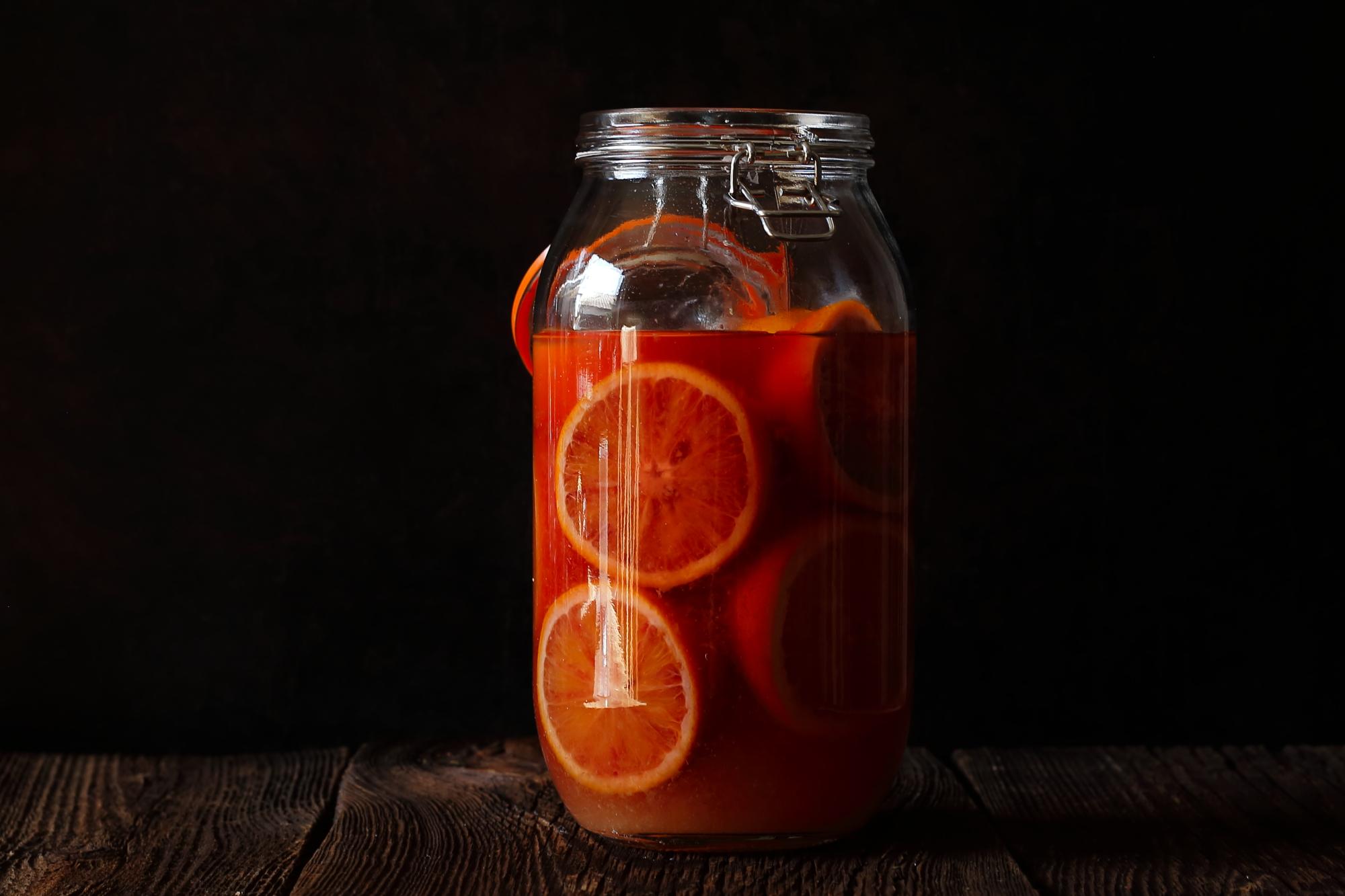 Kiszone pomarańcze