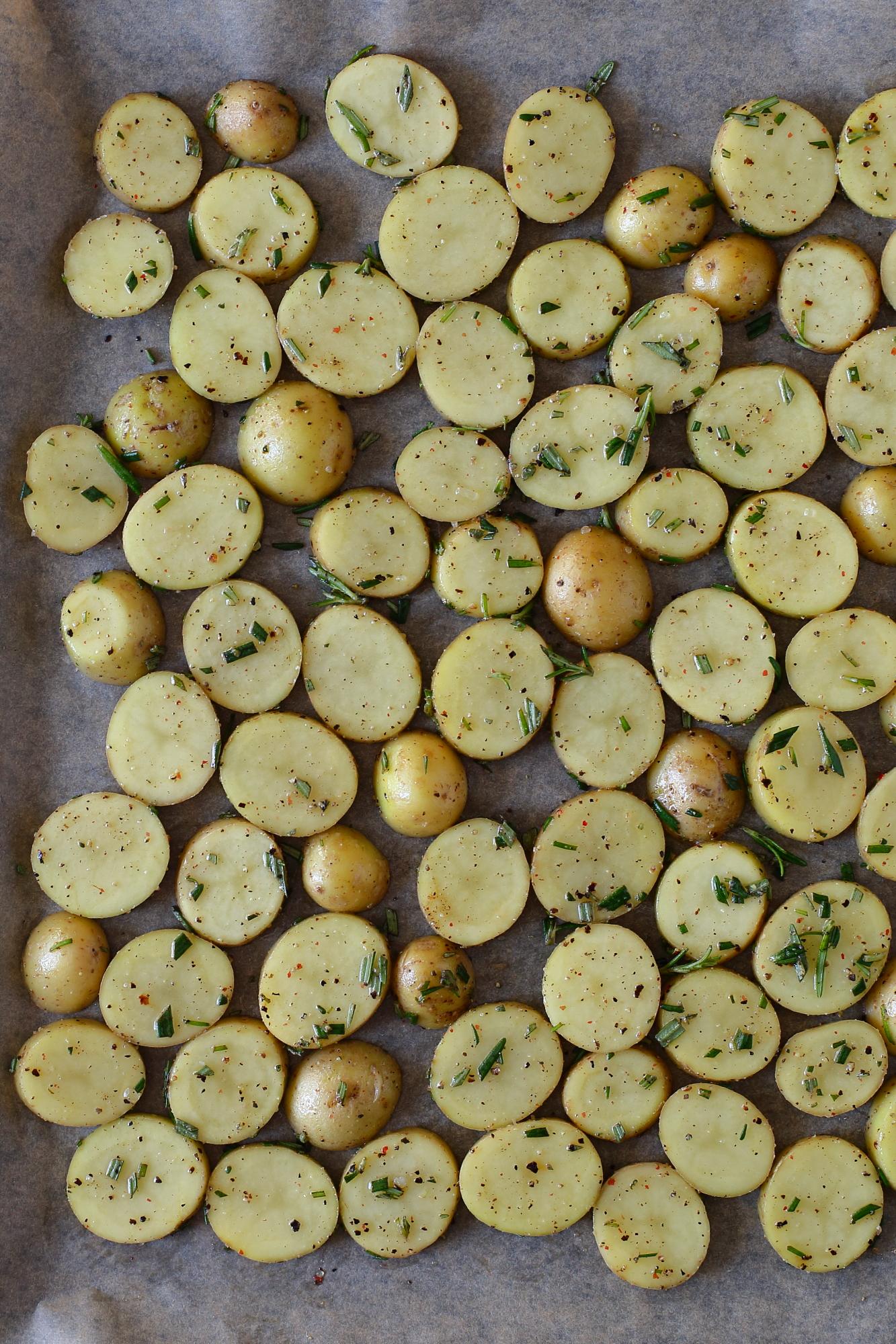 Ośmiornica z ziemniakami