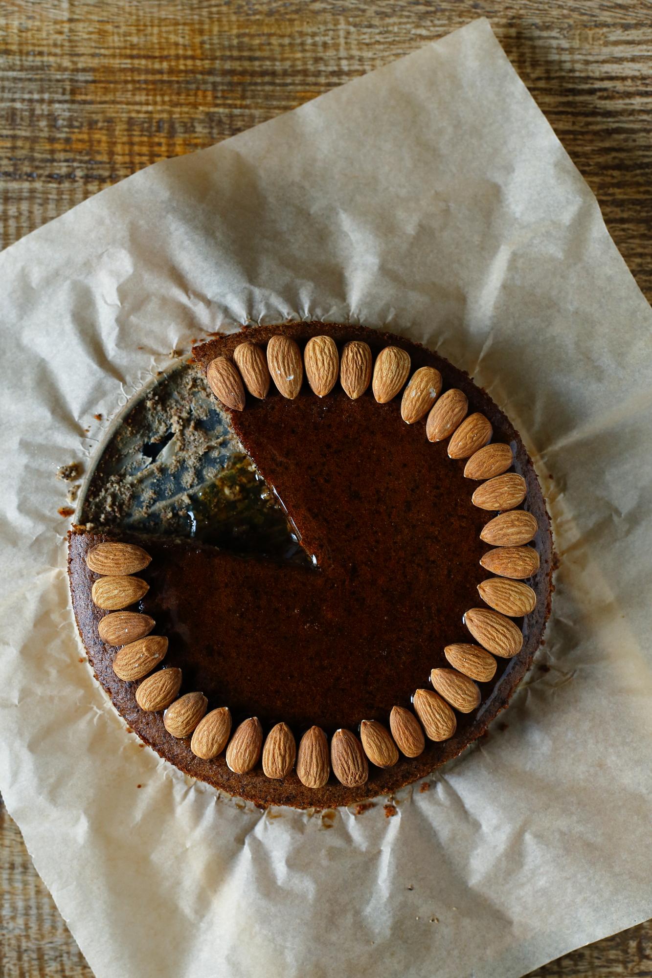 Ciasto gruszkowo-migdałowe