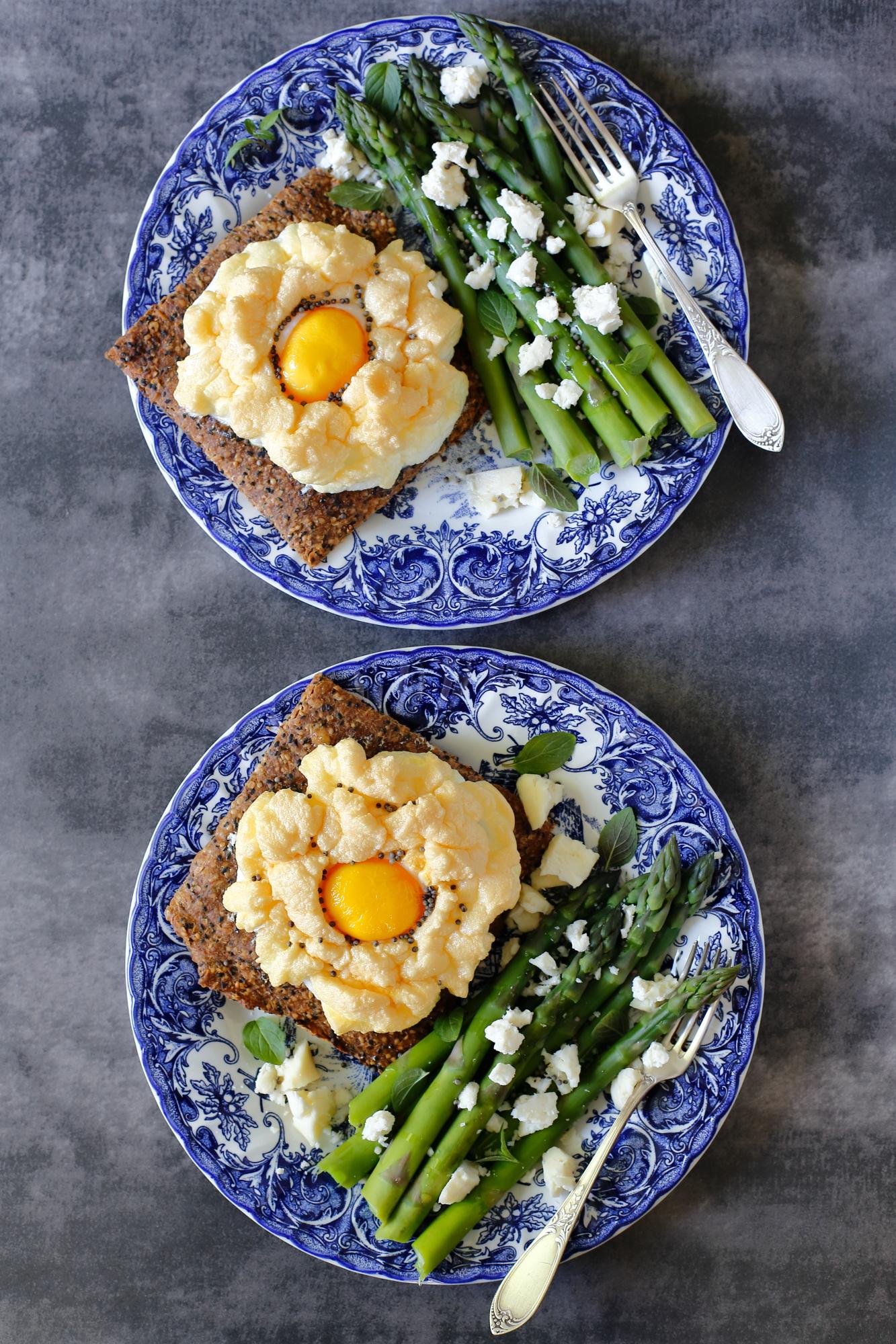 Jajko na chmurce - cloud eggs