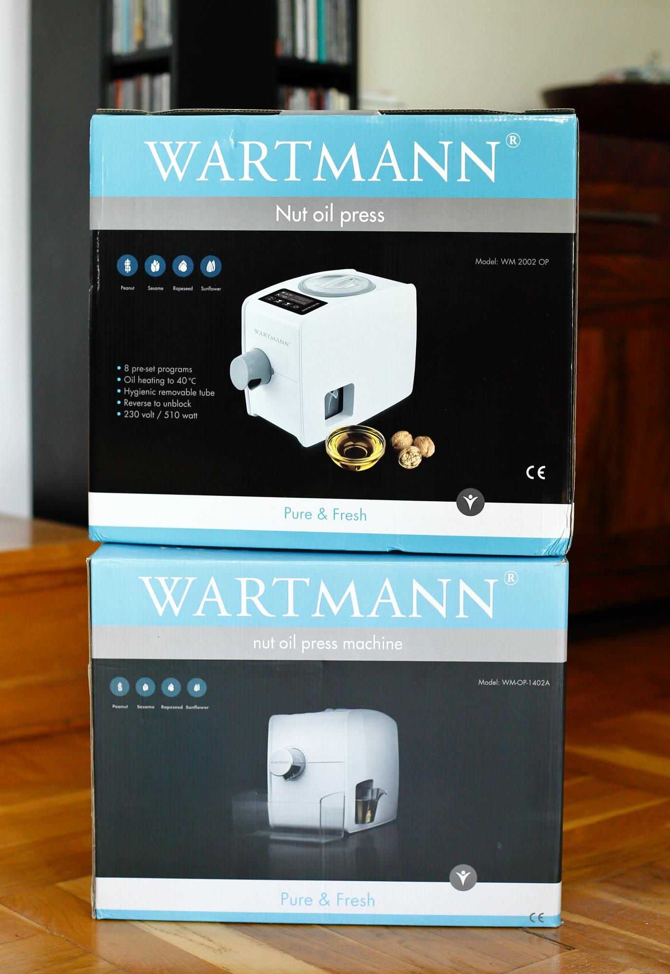 Prasa do oleju Wartmann III generacji