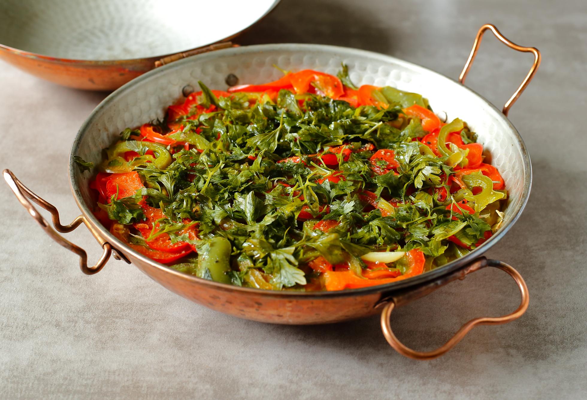 Cataplana z samych warzyw