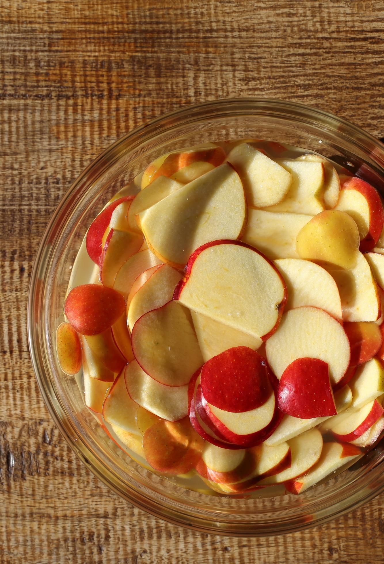 Chipsy jabłkowe czyli suszone jabłka