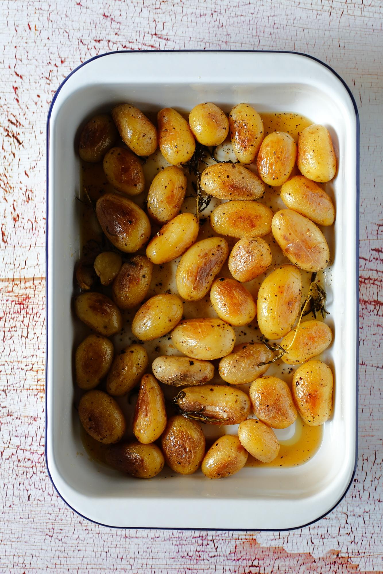 Ziemniaki w cydrze