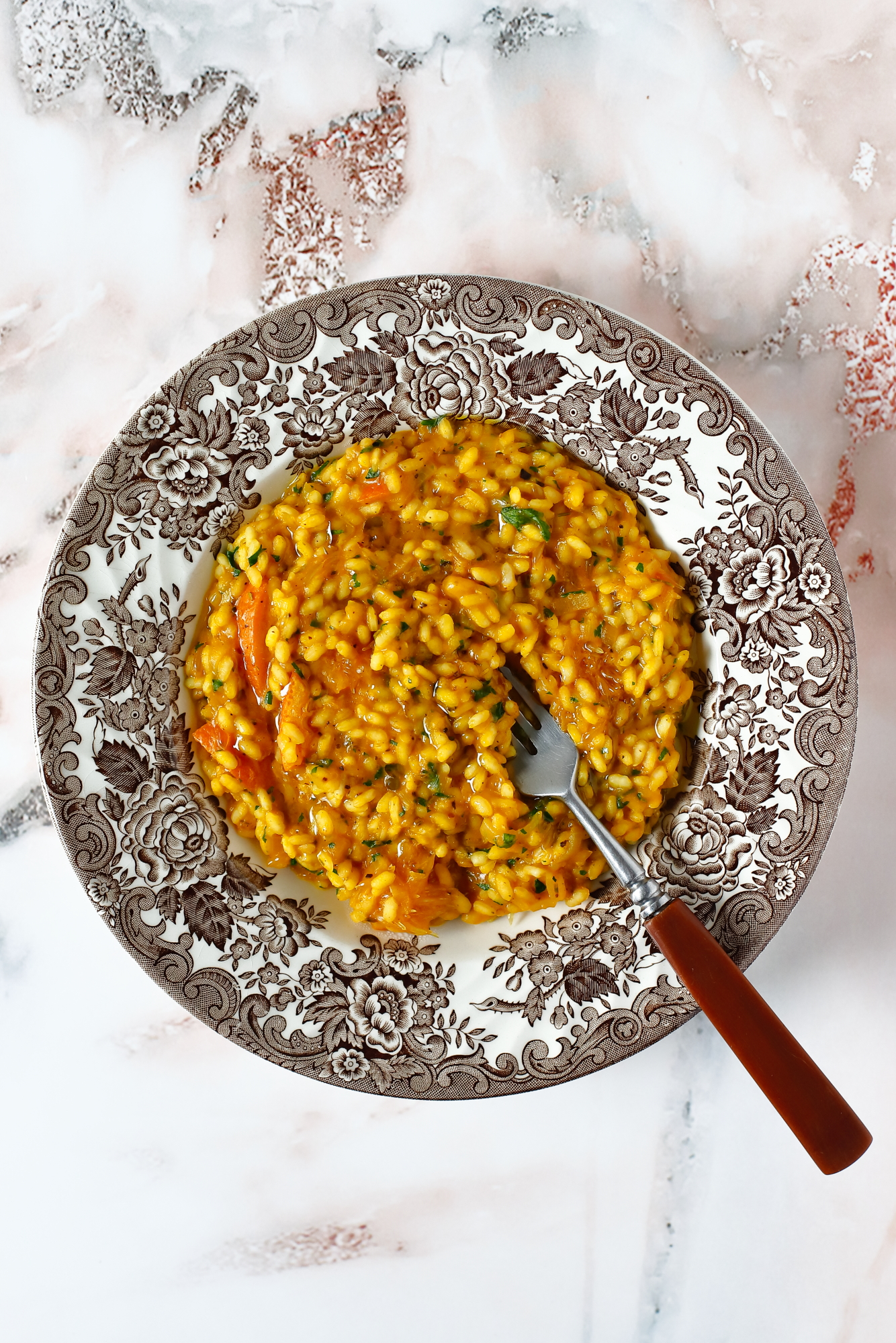 Dyniowe risotto bez bulionu