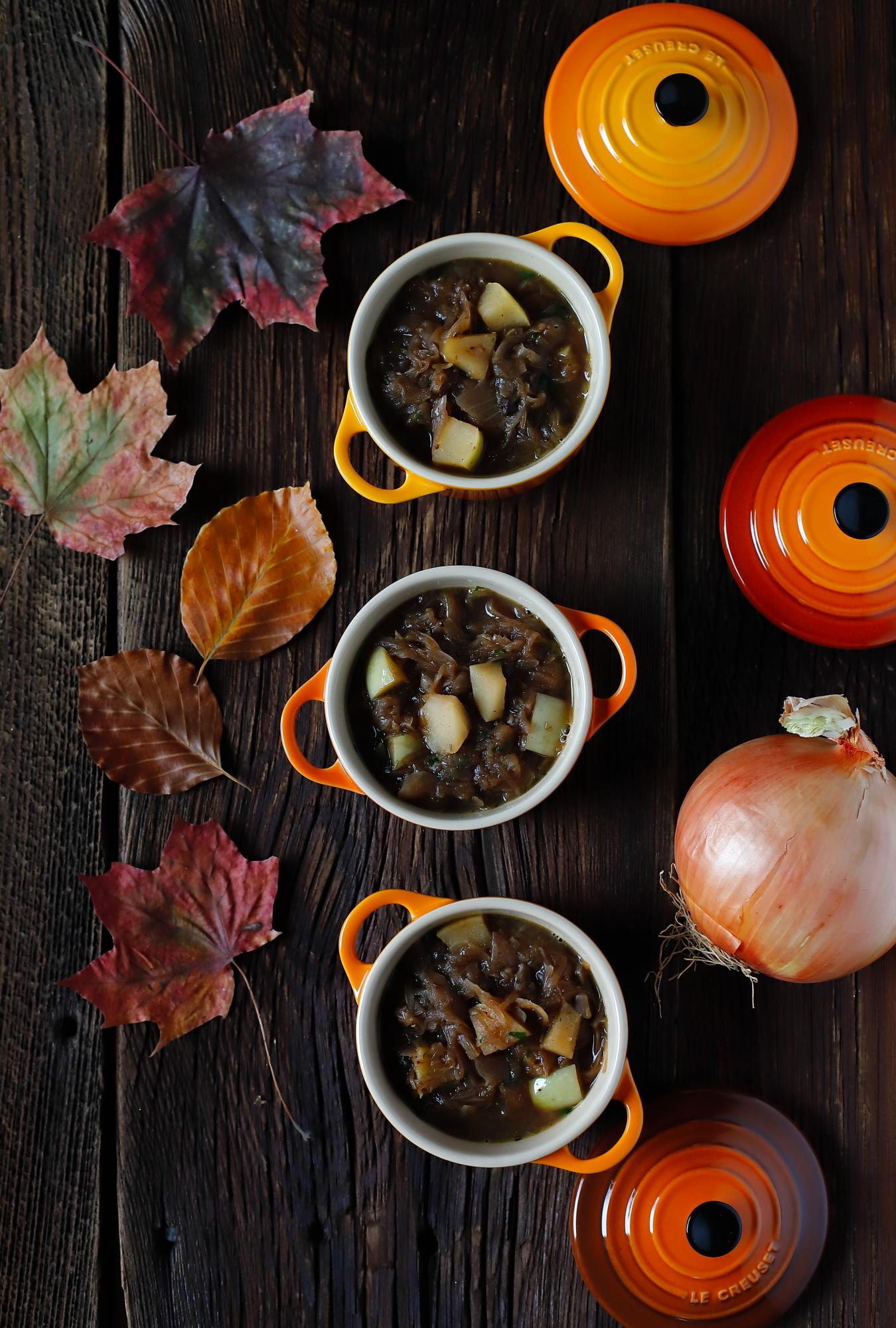 Cebulowa - wspaniała zimowa zupa