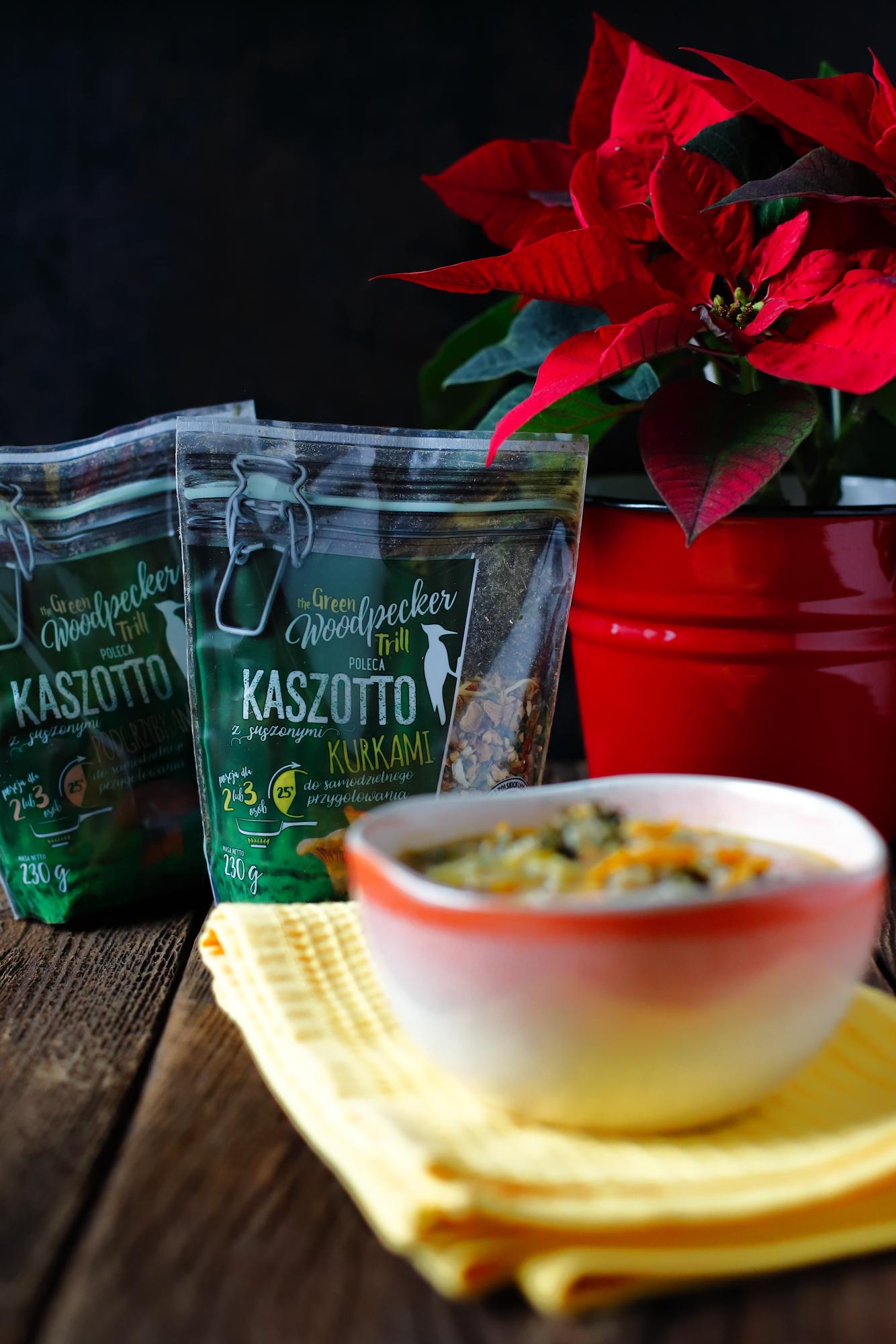 Jarzynowa zimowa - z kaszotto i kurkami