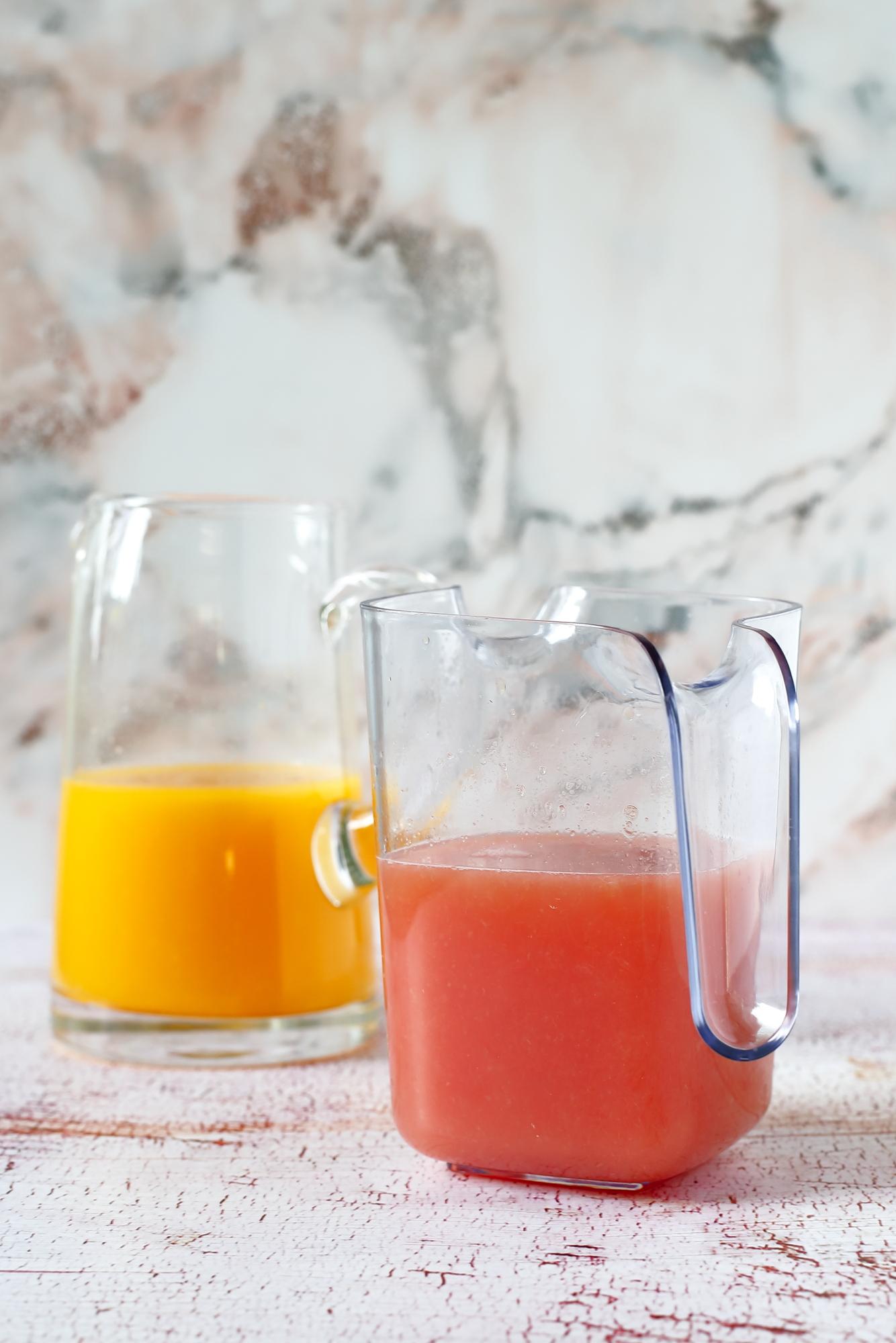 Owsianka z piekarnika na soku z pomarańczy