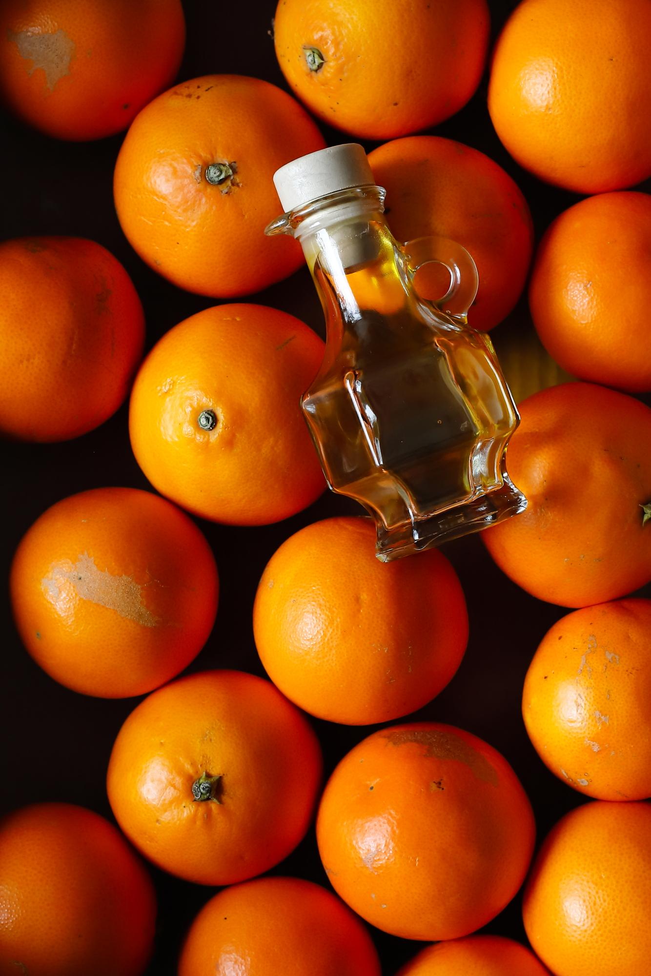 Śledzie z pomarańczą
