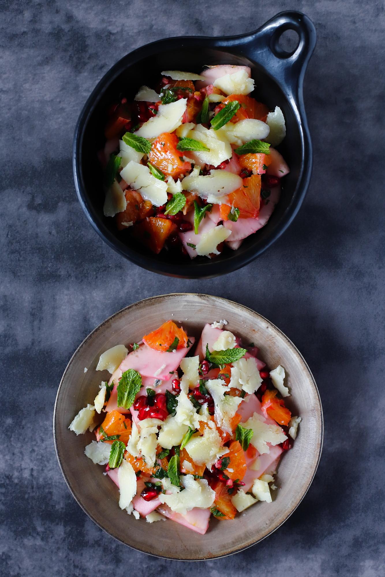 Sałatka z cytronem i pecorino