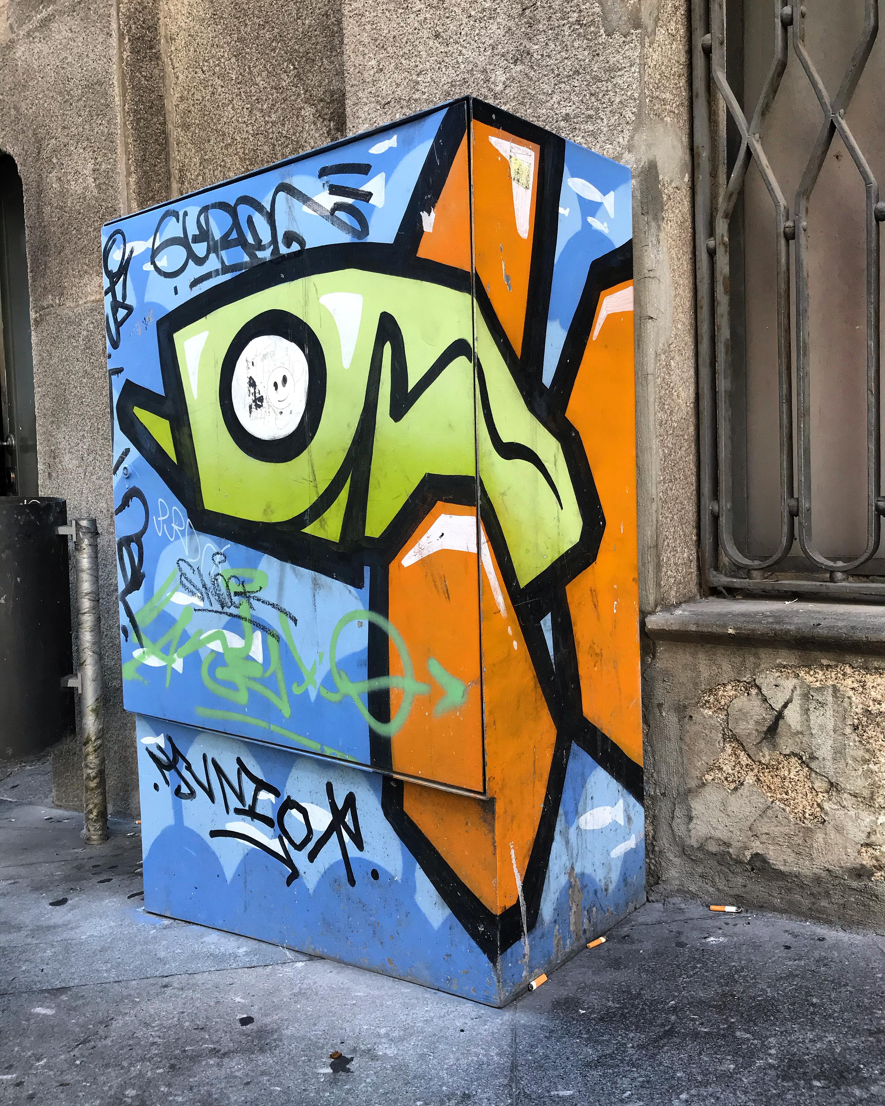 Street art w Porto