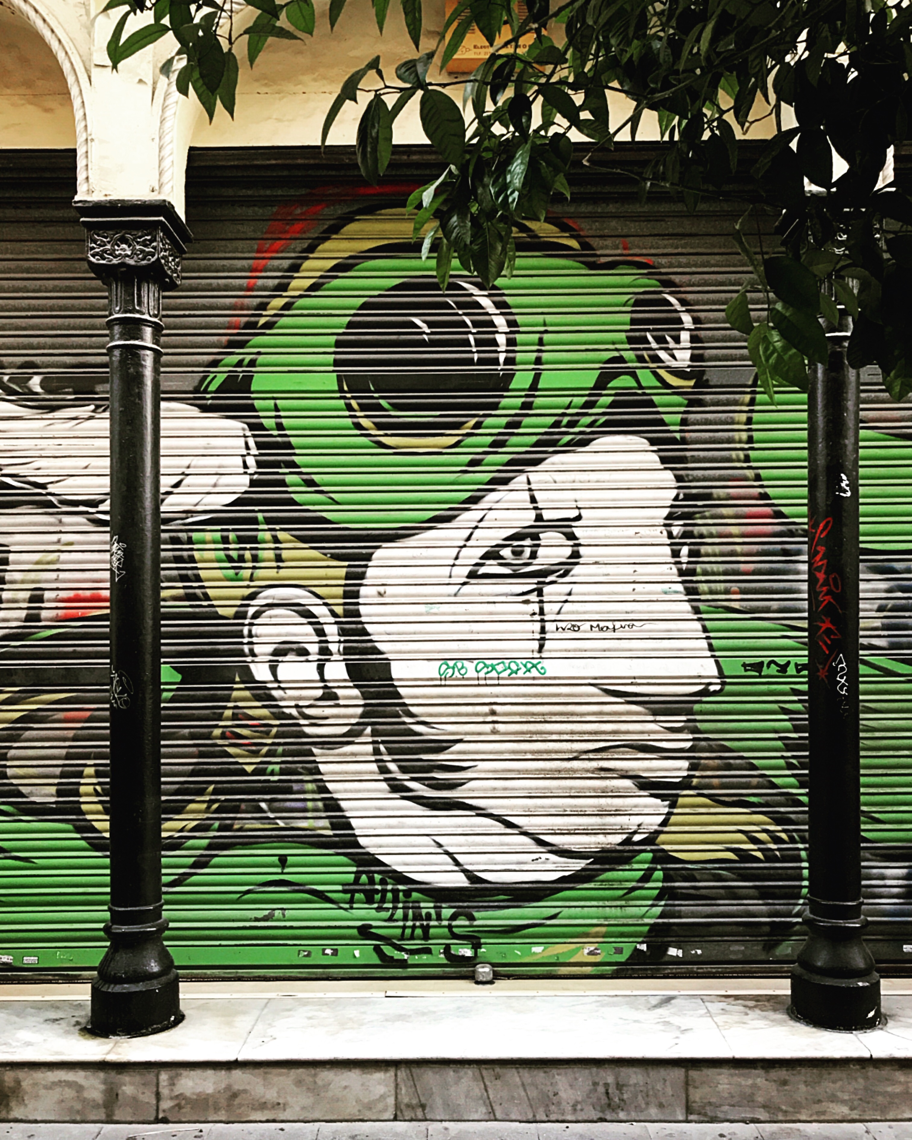 Street art w Sewilli