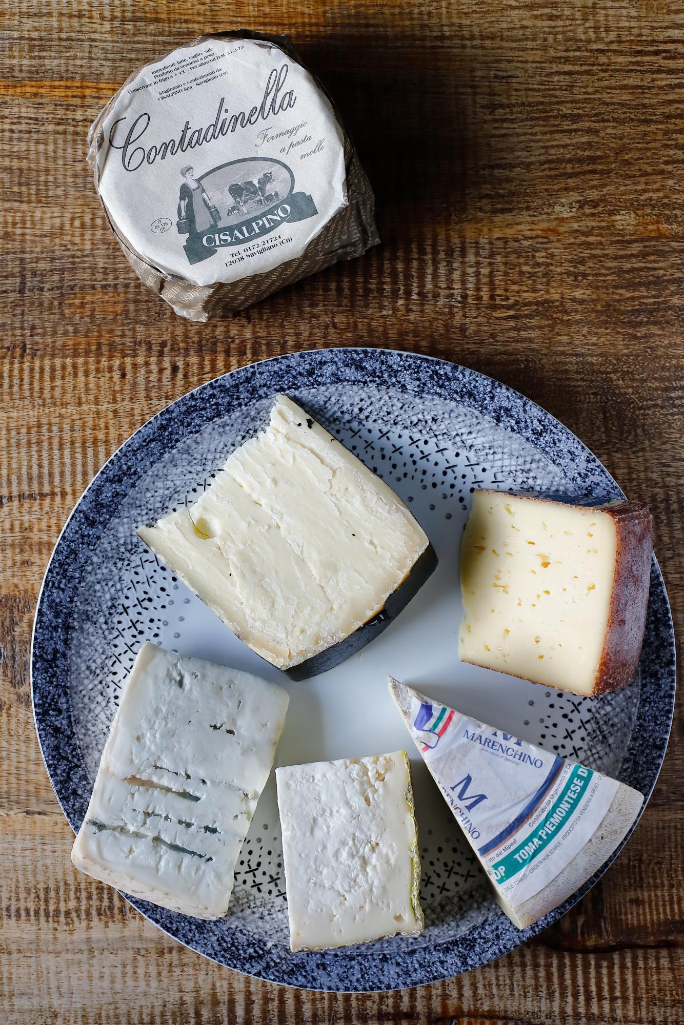 Bakłażany z miodem i kozim serem