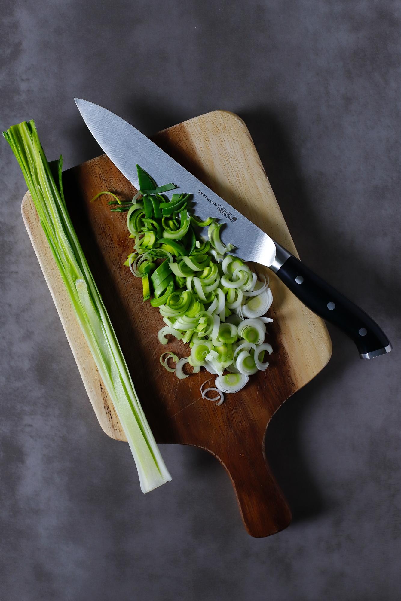 Vignole z zielonych warzyw