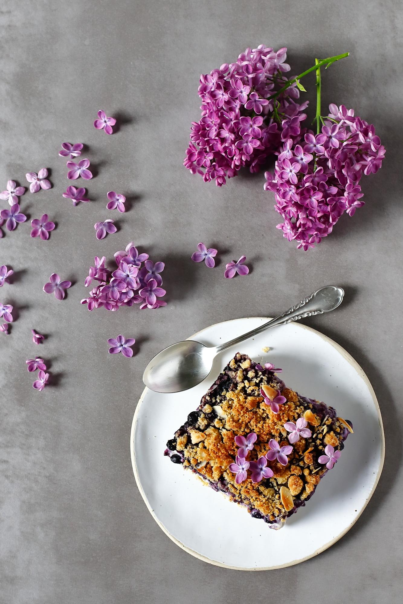 Najprostszy przepis na ciasto z jagodami