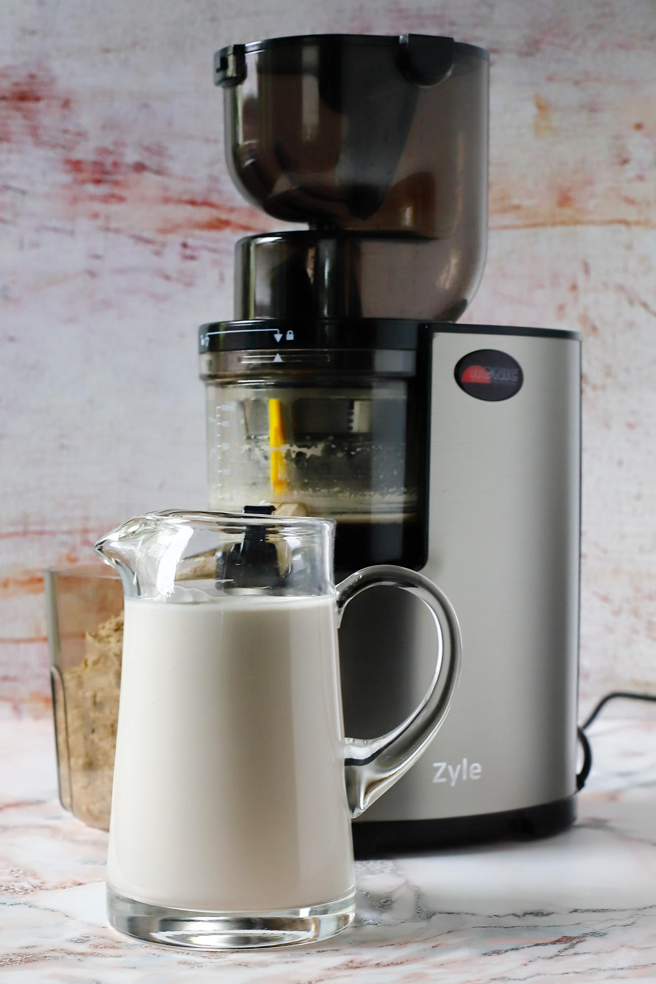 Ciasteczka z pulpy orzechowej po tłoczeniu mleka