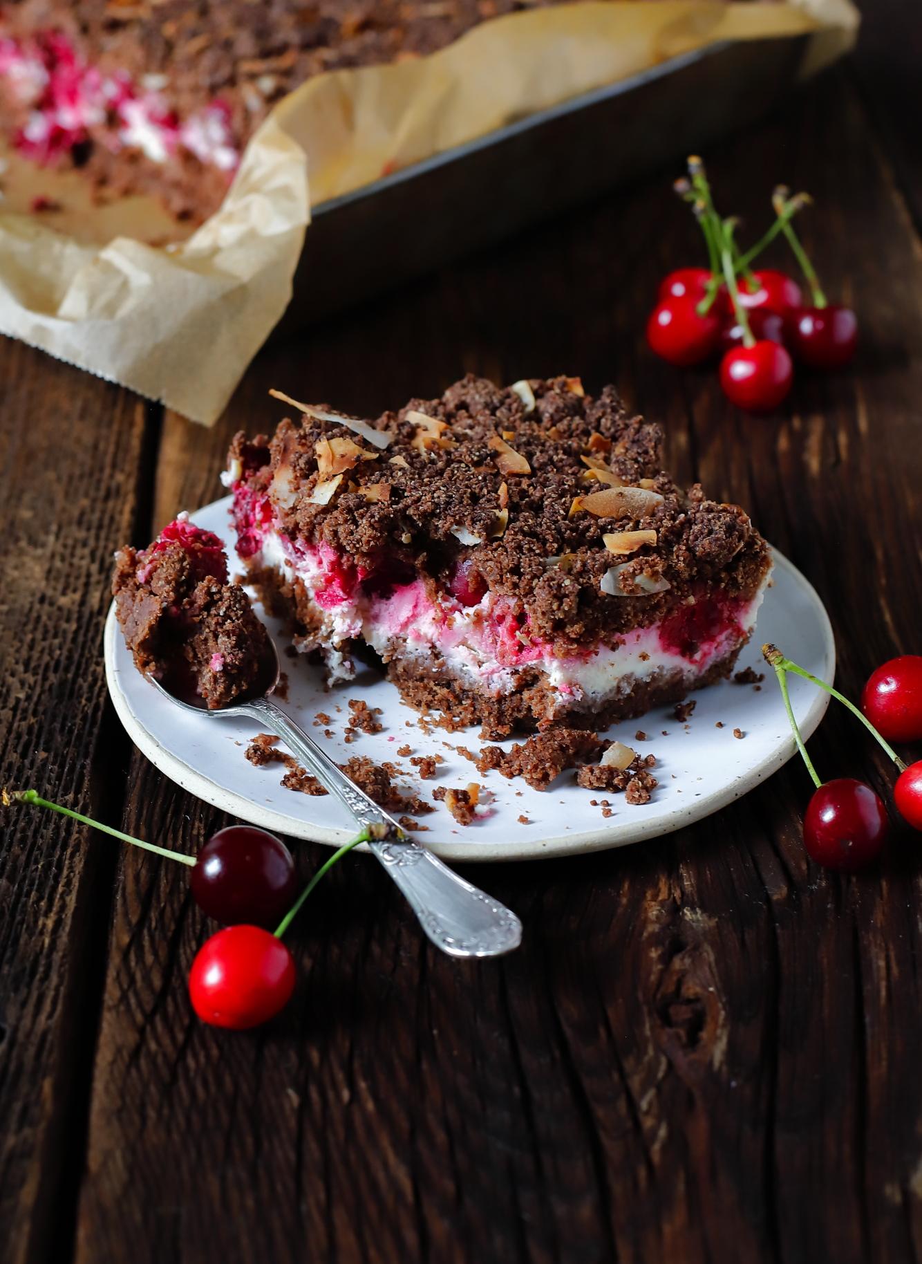 Najprostsze ciasto z wiśniami